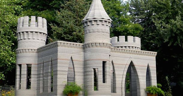 This Engineer Just Built An Amazing Castle In His Backyard
